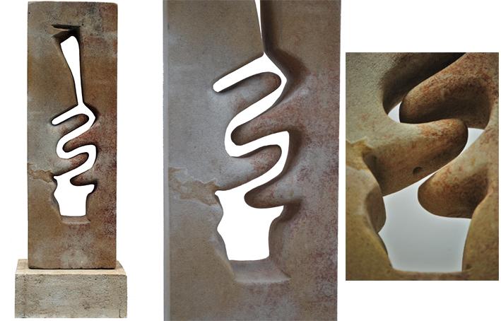 Escultura de Paz Santos